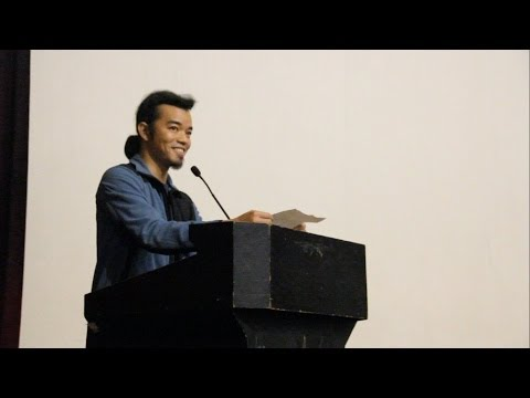 Bob Ong speech delivered by Manix Abrera