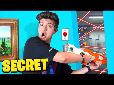 Extreme HIDE Your NERF GUN Challenge
