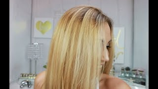 Toning Hair With Loreal Excellence Cream 9A Light Ash Blonde
