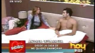 Andrea Legarreta y Marcus ME QUIERO ENAMORAR