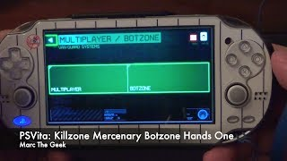 PSVita: Killzone Mercenary BOTZONE - Offline Multiplayer