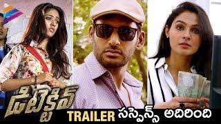Vishal's Detective Movie Trailer | Anu Emmanuel | Andrea | Detective Movie Theatrical Trailer
