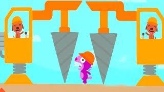 Sago Mini Trucks & Diggers - Sago Sago Sweet Home Fun Build Construction Building Games For Children