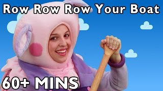 Row Row Row Your Boat and More | Nursery Rhymes by Mother Goose Club Playhouse!