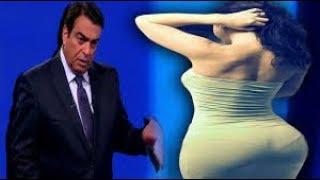 طرد احقر وافجر فتاه مصريه على الهواء في برنامج المسامح كريم
