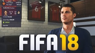 SIGNING RONALDO & MESSI IN FIFA 18 CAREER MODE!