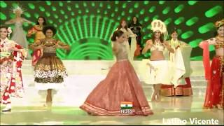 Manushi Chhillar swimsuit round,dance and Q/A crowning movement.😍😍