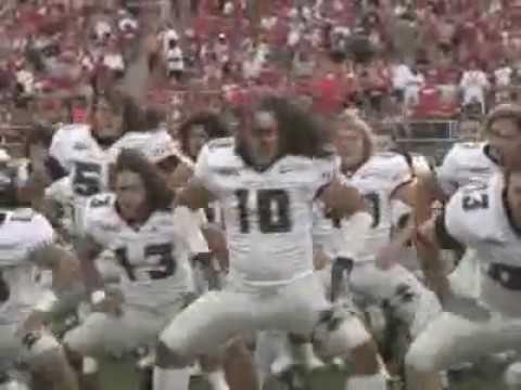 Hawaii Warriors Football New Haka - Hawaiian Ha'a War Chant