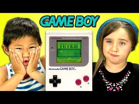 KIDS REACT TO GAME BOY
