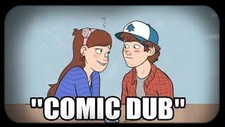 Dipper ayuda a Mabel con su Tarea   Gravity Falls Pincest   Comic Dub   Español Latino