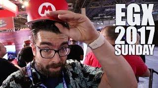 EGX Vlog 2017 | Part 2 | WWE 2K18, Mario Odyssey & Xbox One X