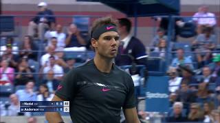 2017 US Open: Top Plays From Rafael Nadal