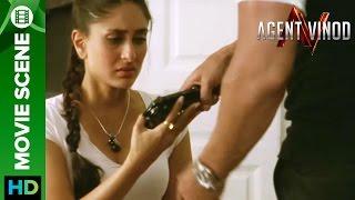 Kareena Kapoor asked to shoot on screen | Agent Vinod