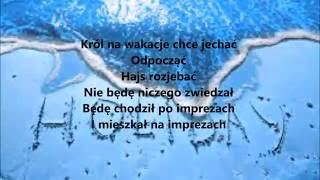 Popek x Matheo- Wakacje TEKST