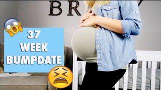37 Weeks Pregnant Vlog! | Low amniotic fluid + Being induced??