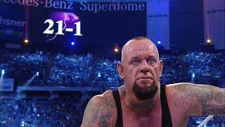 Director's cut of The Undertaker's Streak ending