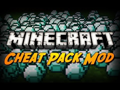 Minecraft Mod Review CHEAT PACK MOD Insane Enchantments Potion Effects Etc