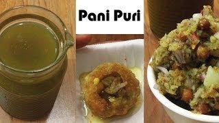 Pani and Filling For Pani Puri - Calcutta Style | Indian Street Food