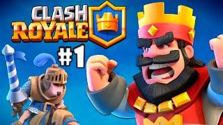Clash Royale #1 Como Vencer a Primeira Batalha