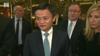 Alibaba CEO Meets Trump