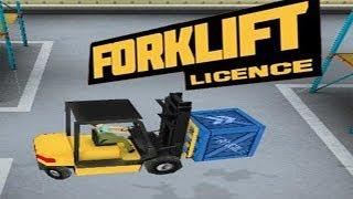 Forklift License Gameplay, Level 1 [HD]