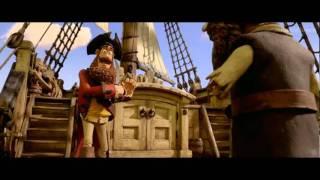 Пираты!  The Pirates! Band of Misfits 2012 Русский Трейлер