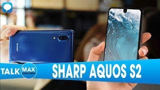 SHARP AQUOS S2 màn 4K, vân tay dưới màn hình