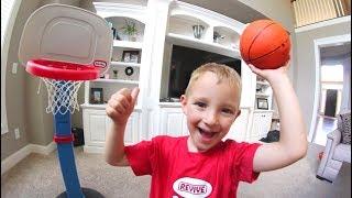 FATHER SON HOUSE BASKETBALL!