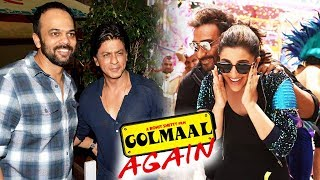 Shahrukh & Rohit Shetty To Do A Film Together, Ajay Devgn's Golmaal Trailer Coming Soon