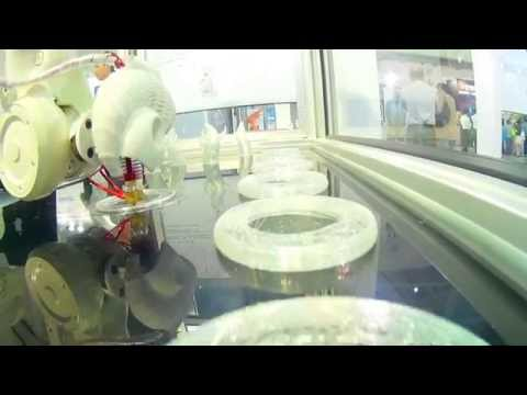 2015 Automation exhibition with ABB 3D Printer 3D列印