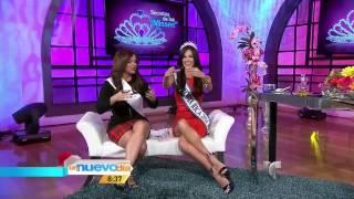 Karina Ramos, Miss Costa Rica 2014, en Un Nuevo Día Full HD