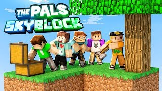 A NEW SKYBLOCK SERIES!! (The Pals Sky Block Survival) #1