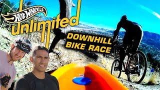 TEAM EDGE: HOT WHEELS VS. MOUNTAIN BIKES! WHO WILL WIN? | Hot Wheels Unlimited | Hot Wheels