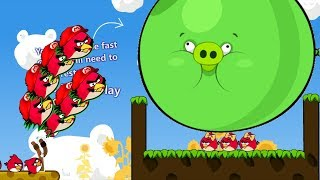 Angry Birds Cannon 3 - RED KICK OUT AND BLASH BAD PIGS TO MEET GIRLFRIEND!