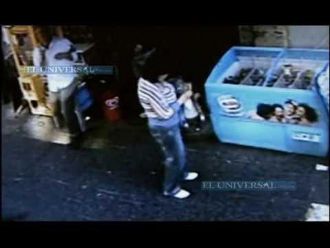 Muestran video de asesinato mafioso
