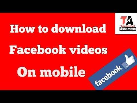 Xxx Mp4 How To Download Facebook Videos On Mobile ফেচবুকৰ পৰা ভিডিঅ কেনেকৈ ডাওনলড কৰিব পাৰি See Full Vide 3gp Sex