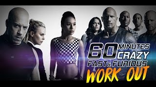 👙 60 Mins CRAZY Fast and Furious Dance Workout for weight loss   Burn 750 Calories  Michelle Vo  
