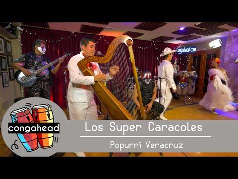 Los Super Caracoles perform Popurrí Veracruz