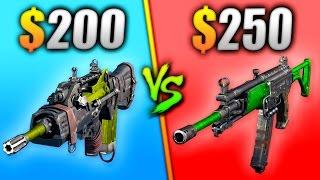 $200 vs $250 GUN - WHICH IS BETTER? - (BATTLE OF THE BLACK OPS DLC GUNS)