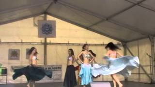 Feruza Jumaniyozova - Yalla Habibi (belly dance)