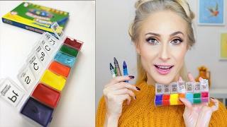 PASTEL Boya Kalemiyle RUJ Yapılır mı? | Sebile Ölmez