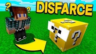 ESCONDE-ESCONDE COM DISFARCE DE LUCKY BLOCK !! - Minecraft