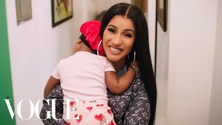 73 Questions With Cardi B | Vogue