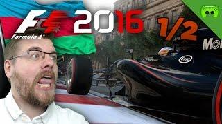 NOCH EINEN FRONTFLÜGEL, BITTE!   Baku 1/2 🎮 F1 2016 #29
