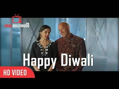 Xxx Mp4 XXX Deepika Padukone And Vin Diesel Diwali Wishes Hindi Style Happy Diwali 3gp Sex