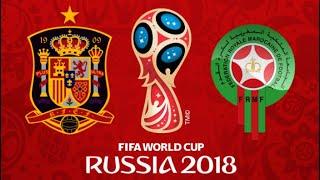FIFA 18 - SPAIN VS MOROCCO WORLD CUP 2018