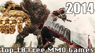 Top 10 Best Free to Play MMORPG Game 2014 for Pc | free online