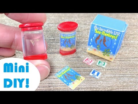 DIY Miniature Sea Monkey Aquarium!