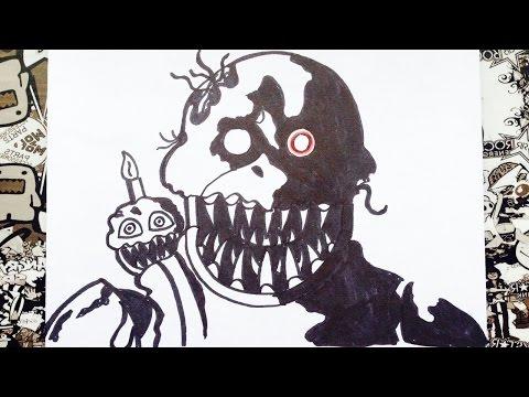 Xxx Mp4 Como Dibujar A Nightmare Chica De Five Nights At Freddy S How To Draw Nightmare Chica 3gp Sex