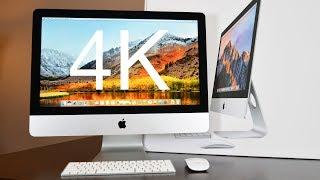 "Apple iMac 21.5"" 4K (2017): Unboxing & Review"